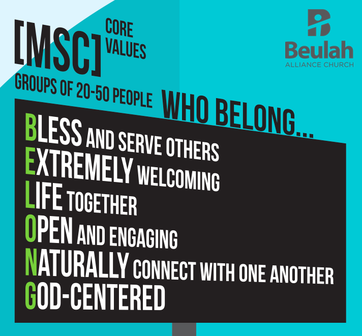 MSC Core Values