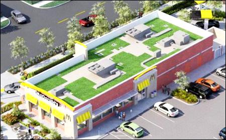 Green McDonald's